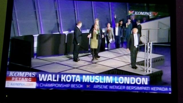 Sadiq Khan Walikota Muslim: Itu Kata Media di Luar Inggris