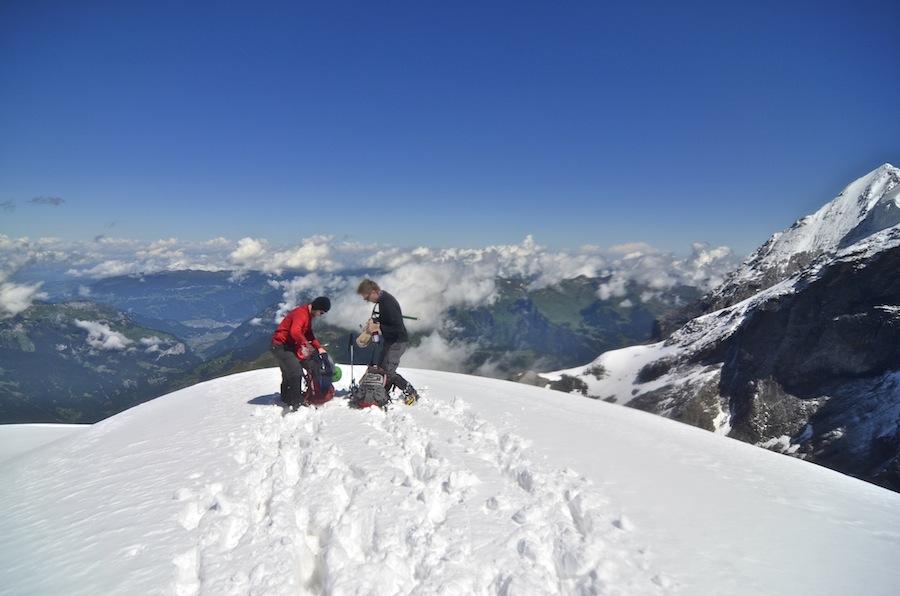 Jungfraujoch Switzerland; Top of Europe