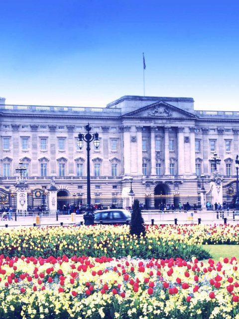 Spring at Buckingham Palace, UK