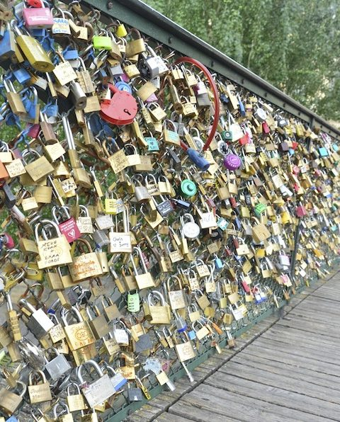 Pont des Arts; Jembatan Cinta Paris