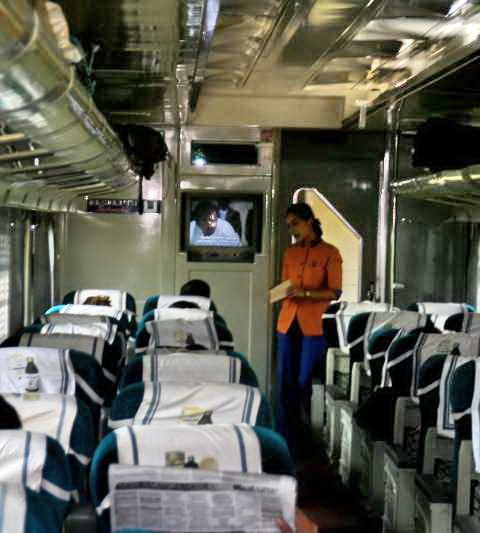 Kaki Lima di Kereta Eksekutif